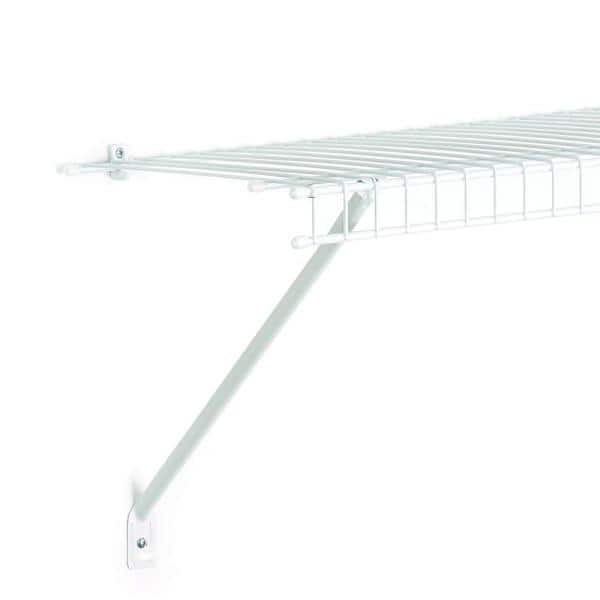 Closetmaid 16 In Wire Shelving Support Bracket 26607 The Home Depot