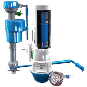 Water-Saving Toilet Total Repair Kit with Dual Flush Valve