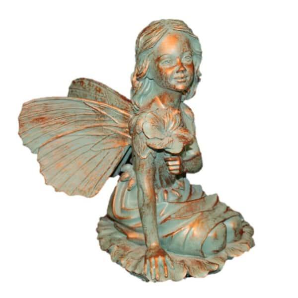 Suffolk Fairies 14 In Fairy Gabriella, Garden Statue Fairy