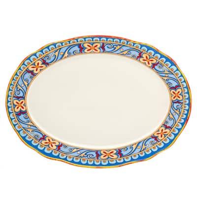 Duomo 18 in. Oval Platter