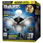 TriBurst 10.5 in. 144 High Intensity LED 4000 Lumens Flush Mount Ceiling Light with 3 Adjustable Heads