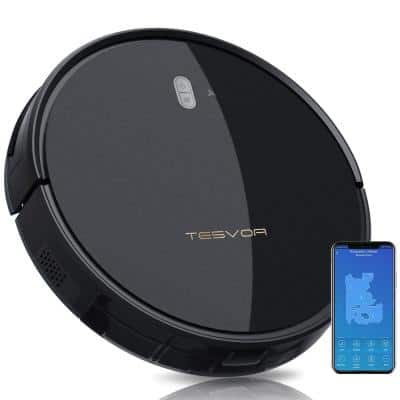 Pro Robotic Vacuum Cleaner 4000Pa Strong Suction Self-Charging Wi-Fi Enabled