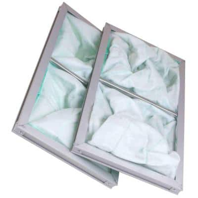 1-Micron Inner Air Filters for 300/350/400CFM Air Filtration Systems (2-Pack)