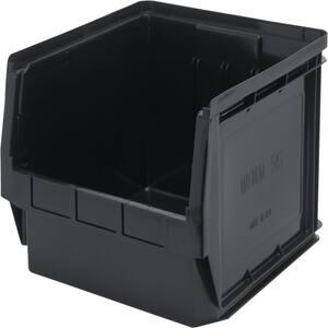 Magnum 19-Gal. Storage Tote in Black (1-Pack)