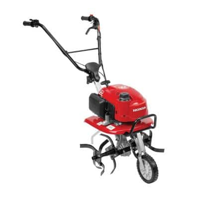 21 in. 57 cc 4 cycle Middle Tine Forward Rotating Gas Tiller-Cultivator