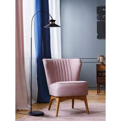 Gracie Black Arc Floor Lamp