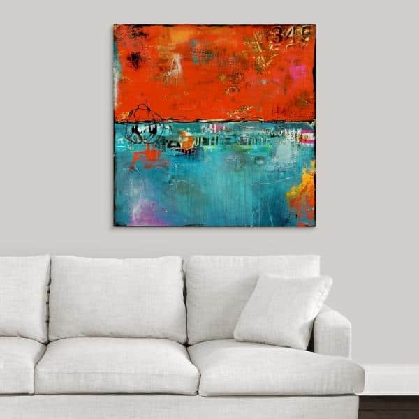 Greatbigcanvas Urban Expressions Ii By Erin Ashley Canvas Wall Art 2381944 24 36x36 The Home Depot