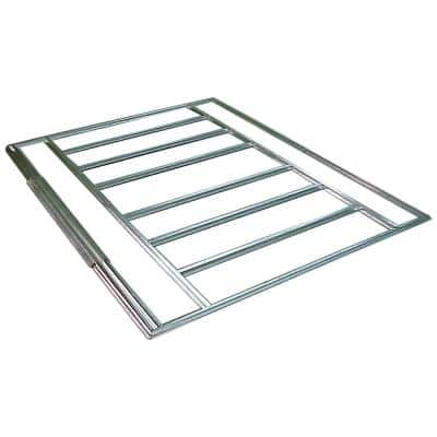 6-10 ft. W x 4 ft. D HDG Galvanized Steel Shed Floor Frame Kit for Euro-Lite Pent Sheds (Floor Material Not Included)