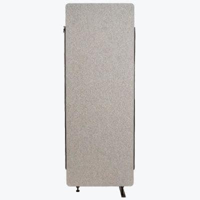 Reclaim 66 in. Misty Gray 1-Expansion Panel Room Divider
