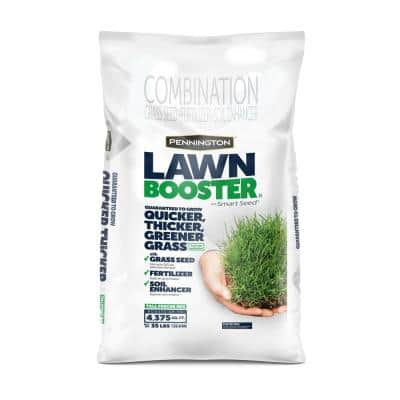35 lbs. Tall Fescue Lawn Booster with Smart Seed, Fertilizer and Soil Enhancers