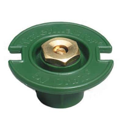 1/2 Pattern Plastic Flush with Brass Nozzle