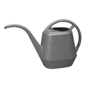 Aqua Rite 1/2 Gal. Charcoal Plastic Watering Can