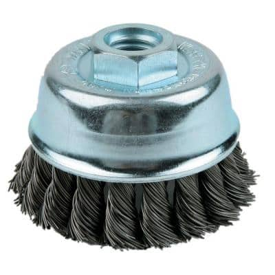 3 in. Single Row Knotted Cup Brush