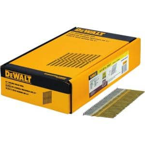 3-1/4 in. x 0.131 in. Galvanized Metal Framing Nails 2000 per Box
