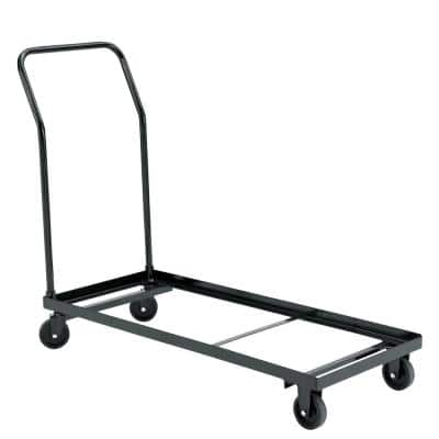 1100 lbs. Weight Capacity Folding Chair Dolly for Storage and Transport