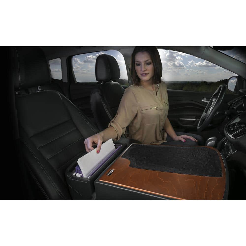 Mahogany Finish 1 Pack AutoExec AEGrip-02-MAH Efficiency Car Desk