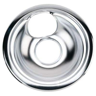 6 in. Chrome Drip Bowl for GE and Hotpoint Electric Ranges