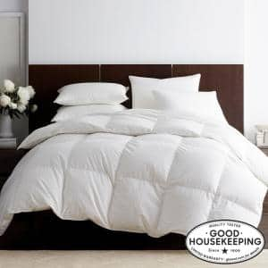 Legends Luxury Royal Baffled Extra Warmth White Full Goose Down Comforter