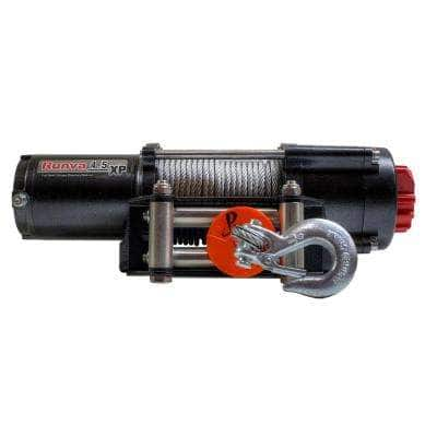 4,500 lbs. Capacity 12-Volt Electric Winch with 52 ft. Steel Cable Expert Package