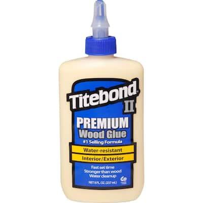 8 oz. Titebond II Premium Wood Glue (12-Pack)