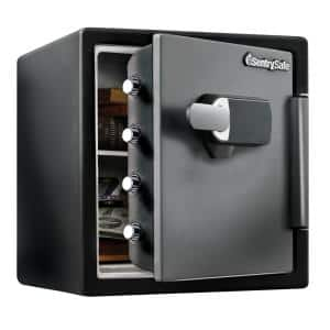 1.23 cu. ft. Fireproof Safe and Waterproof Safe with Touch Screen