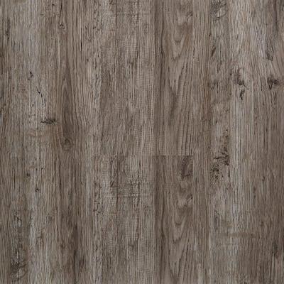 Ashen Gray 5.91 in. Width x 48 in. Length Floating Vinyl Plank Flooring (19.69 sq. ft./case)