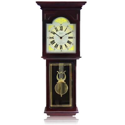 Redwood Pendulum Wall Clock