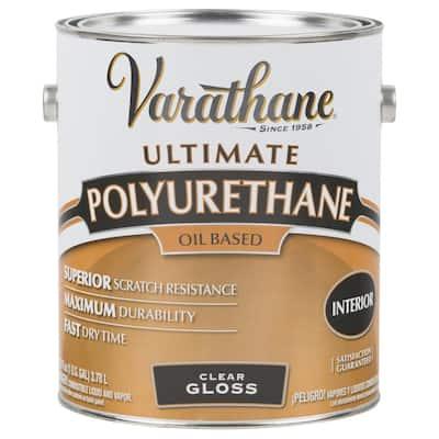 1 gal. Clear Gloss 275 VOC Oil-Based Interior Polyurethane (2-Pack)