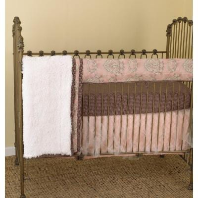 Nightingale Cotton Floral Front Crib Rail Cover Up