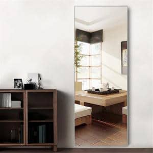 64.17 in.  X 21.26 in.Oversized Modern Metal Framed Full Length Standing Mirror
