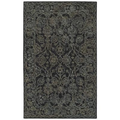 Courvert Charcoal 8 ft. x 10 ft. Area Rug
