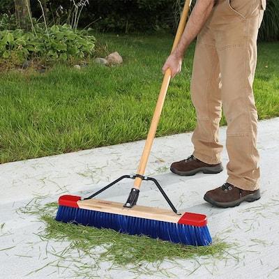 24 in. Outdoor Wet/Dry Push Broom