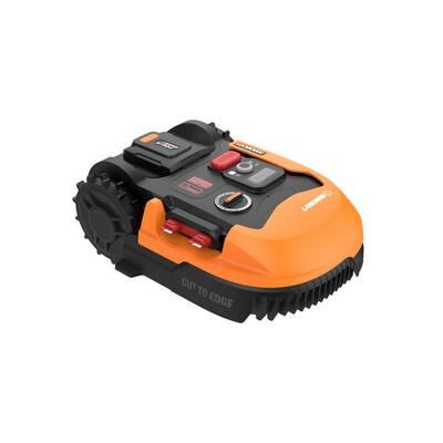 POWER SHARE 20-Volt 9 in. 6.0 Ah Robotic Landroid L Mower, Brushless Wheel Motors, Wifi Plus Phone App, 1/2 acre