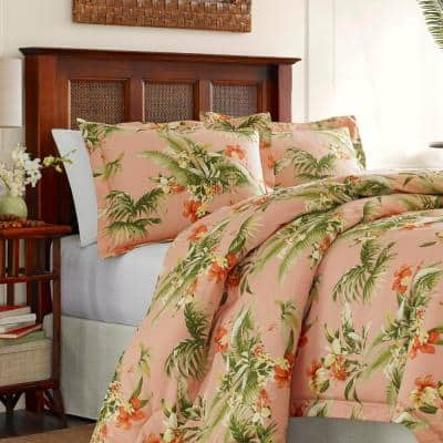 Siesta Key Botanical Cotton Comforter Set