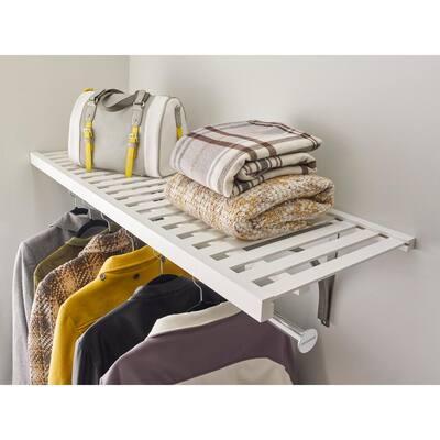 White Ventilated Shelf Kit 48 in. W x 16 in. D