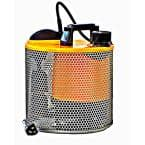 1/2 HP Submersible Sump Pump with Non Clogging Screen and Vertical Float for Auto On/Off Operation in Dirty Water