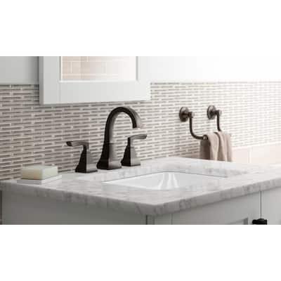 Kallan 8 in. Widespread 2-Handle Bathroom Faucet in Oil-Rubbed Bronze