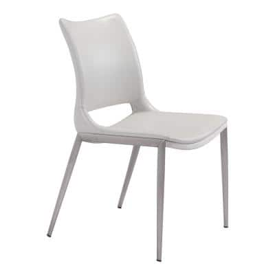 Ace White Dining Chair (Set of 2)