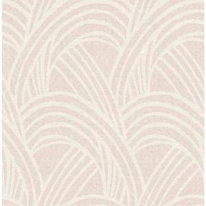 Farrah Blush Geometric Wallpaper Sample