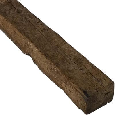 7 in. x 9 in. x 8 ft. Common, Actual 7 in. x 9 in. x 96 in. Creosote Treated Used Railroad Tie