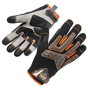 ProFlex 760 Large Black Impact-Reducing Utility Gloves