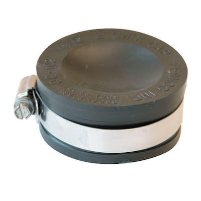 2 in. PVC DWV Flexible Cap