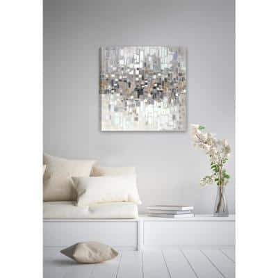 24 in. H x 24 in. W Abstract II Canvas Print Unframed Canvas Wall Art