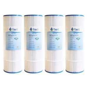 30 sq. ft. Spa Filter Cartridge for 31489, Pleatco PWK30, Filbur FC-3915, Unicel C-6430 (4-Pack)