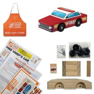 Fire Chief's Car Kit Pack