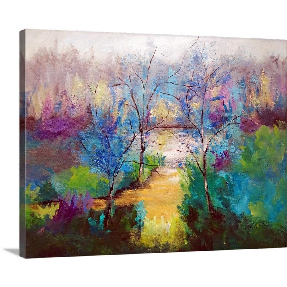 Greatbigcanvas And God Saw That It Was Good By Ruth Palmer Canvas Wall Art 1999798 24 20x16 The Home Depot