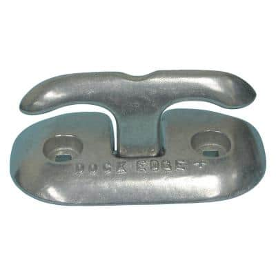 6 in. Flip-Up Dock Cleat, Polished