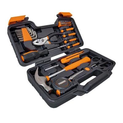 Hand Tool Kit with Storage Case (39-Piece)