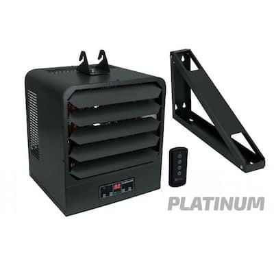 KB 208-Volt 7.5 kW 1-3 pH Platinum Unit Heater with Bracket, Remote Control