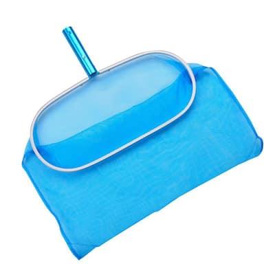 Aluminum Deep Pool Bag Rake with Chemical-Resistant Mesh